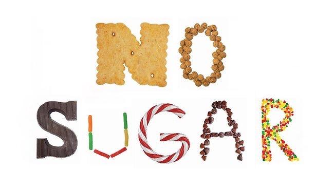 Eff! Sugar is in everything!