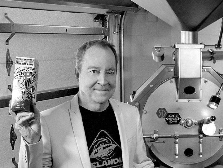 A Coffee Klatch With The B-52s Frontman Fred Schneider